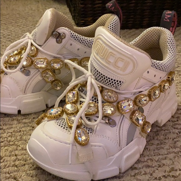 Gucci Shoes | Womens Flashtrek Sneakers